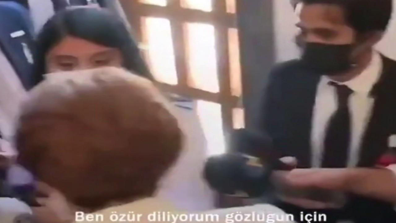 Meral Akşener gazetecilerden özür diledi