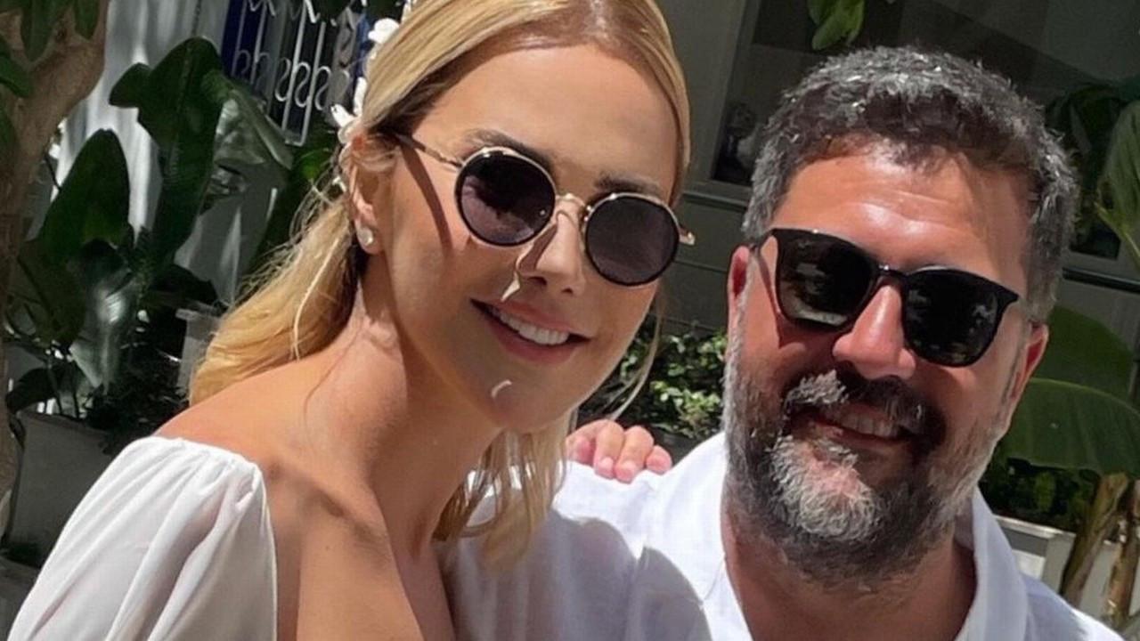 Ece Erken ve Şafak Mahmutyazıcıoğlu evlendi