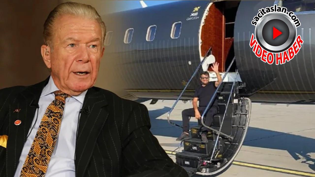 Uğur Dündar SBK'nın uçağının renginin neden siyah olduğunu açıkladı!