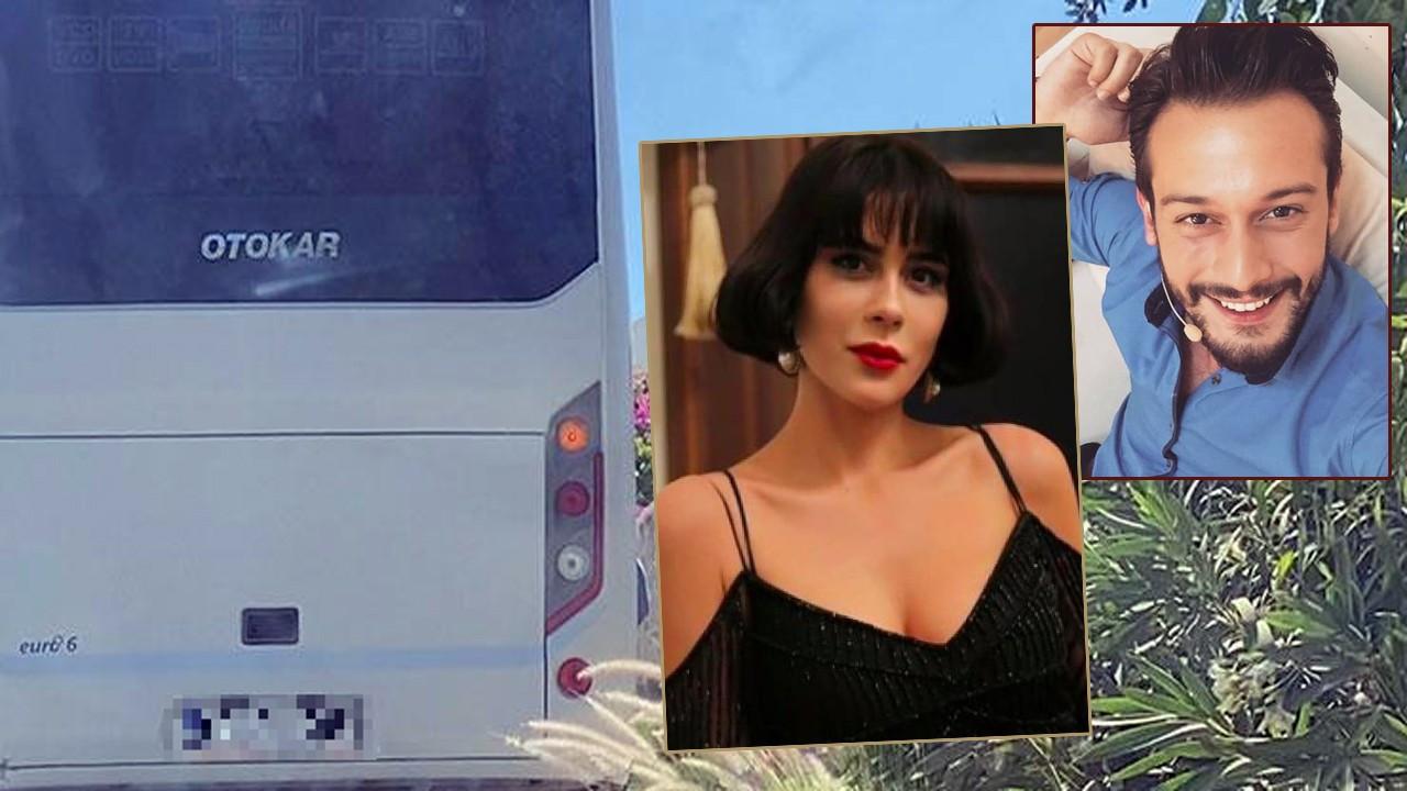 Bir otobüs dolusu ünlü, tatilcileri şaşırttı!