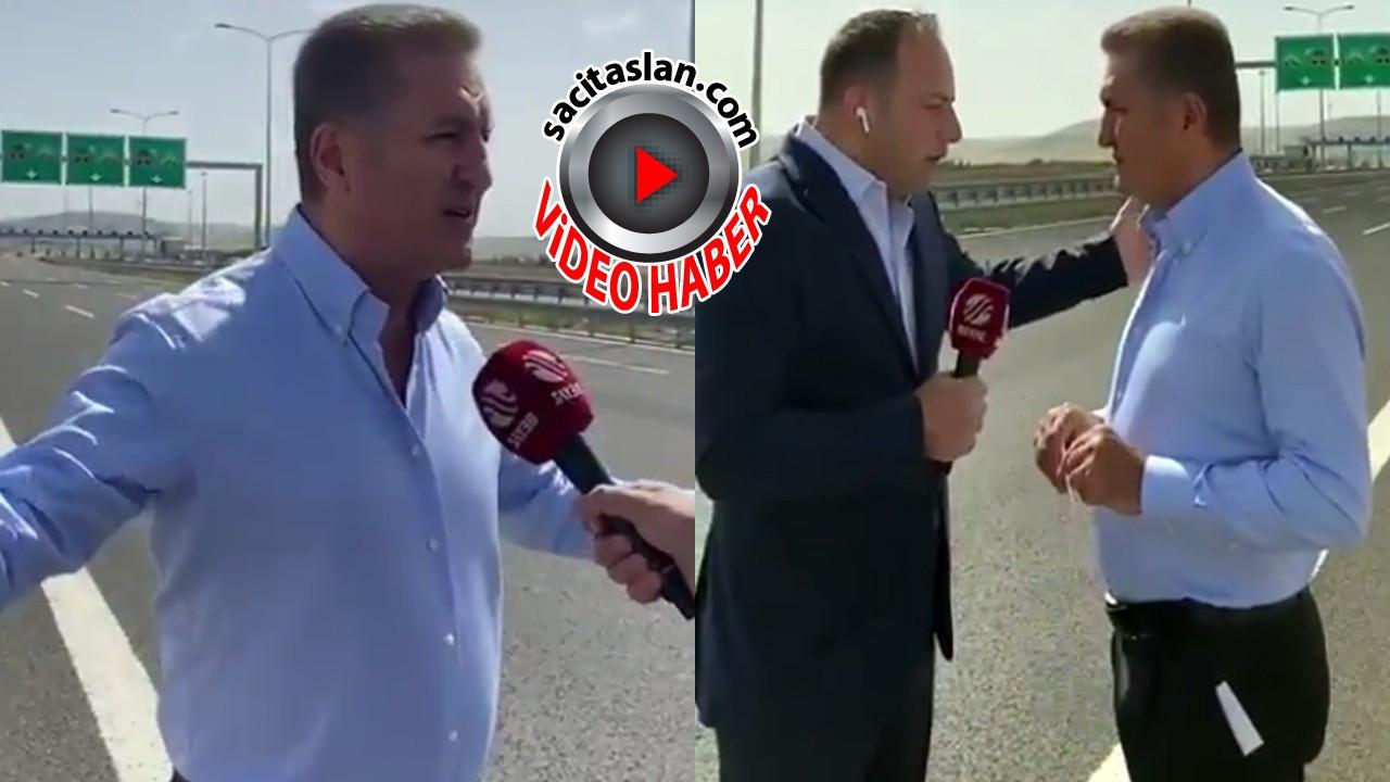Mustafa Sarıgül Beyaz Tv muhabiri ile kapıştı!