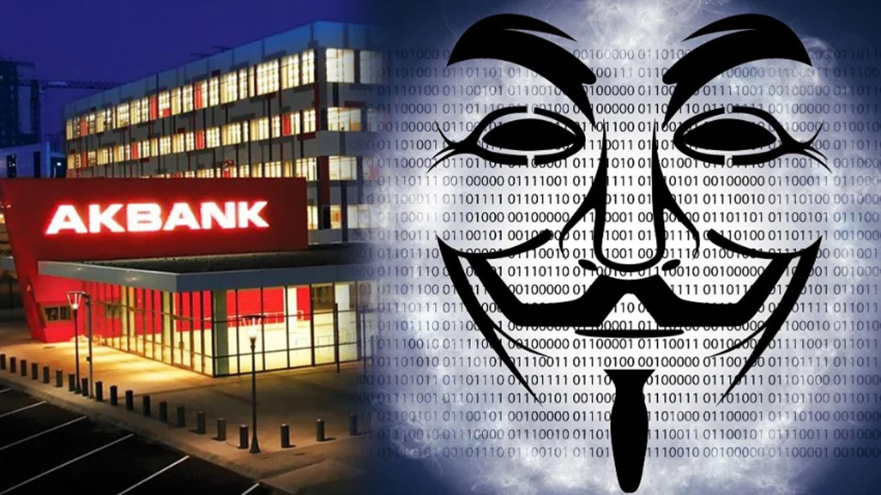 Anonymous'tan 'AKBANK' açıklaması!