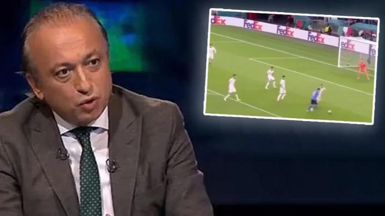 TRT spikeri Levent Özçelik'in İtalya - İspanya maçındaki hatası gündem oldu!