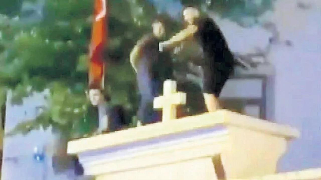 Ermeni Kilisesi'ne saygısızlığa tepkiler artıyor