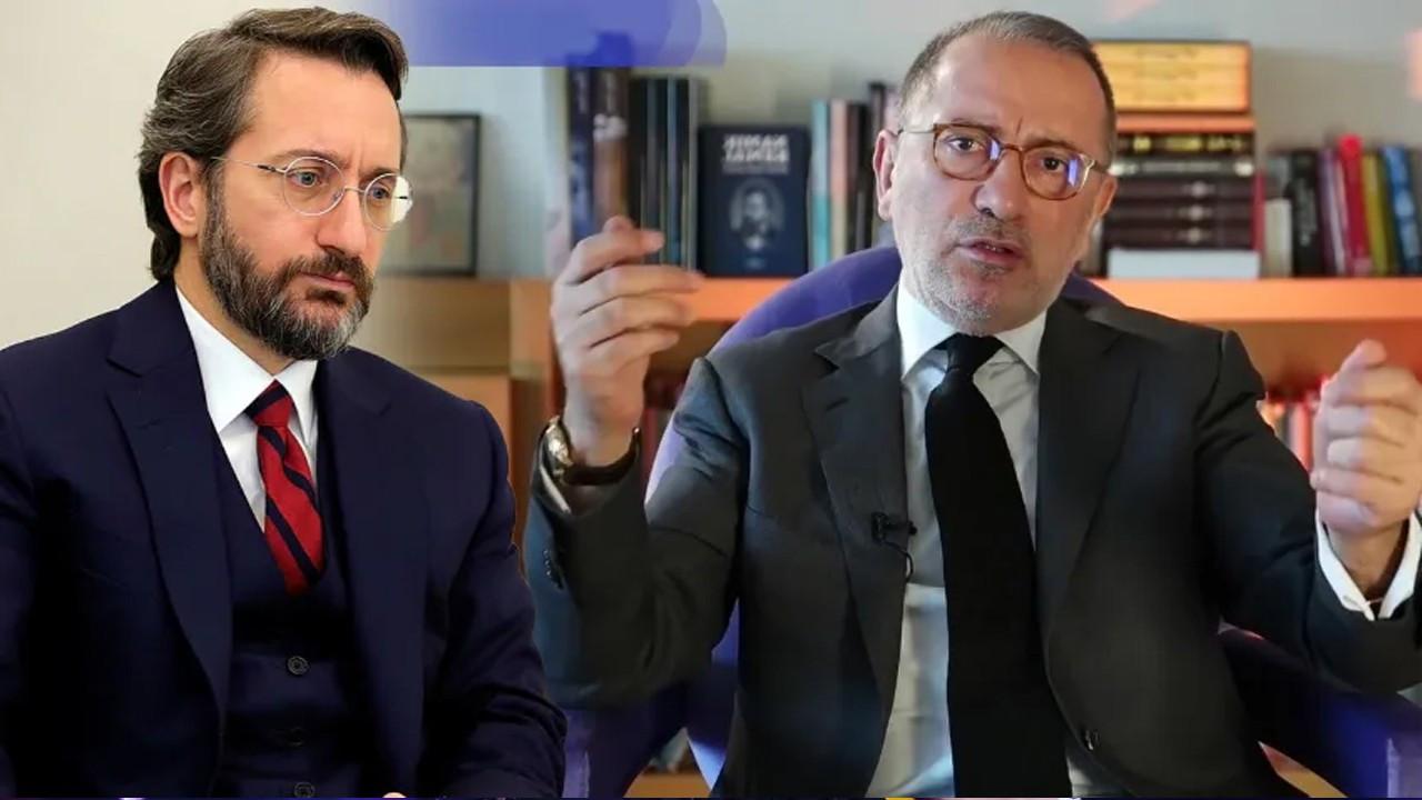 """Fahrettin Altun'dan Fatih Altaylı'ya sert cevap: """"Habertürk'ü kınıyoruz"""""""