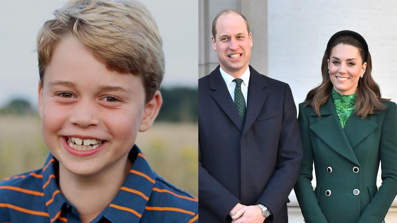 İngiltere Kraliyeti'nin minik veliahtı 8 yaşına bastı