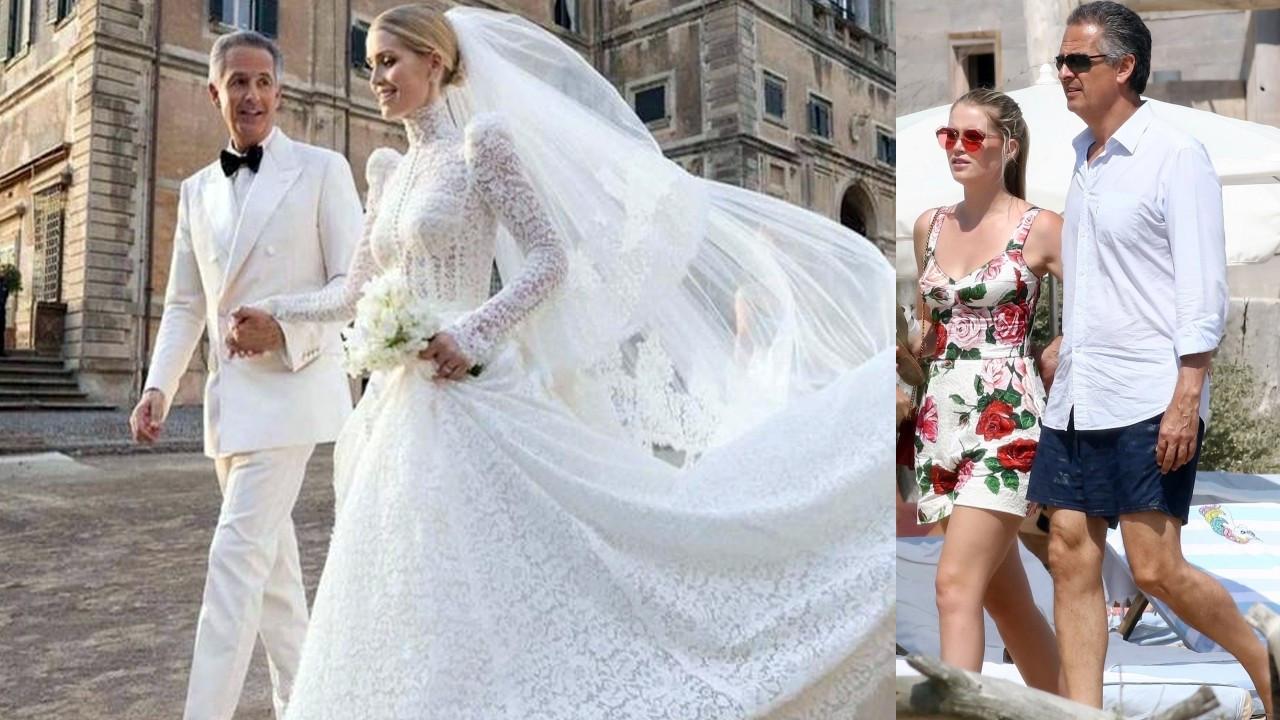 Prenses Diana'nın yeğeni 32 yaş büyük milyarderle evlendi!