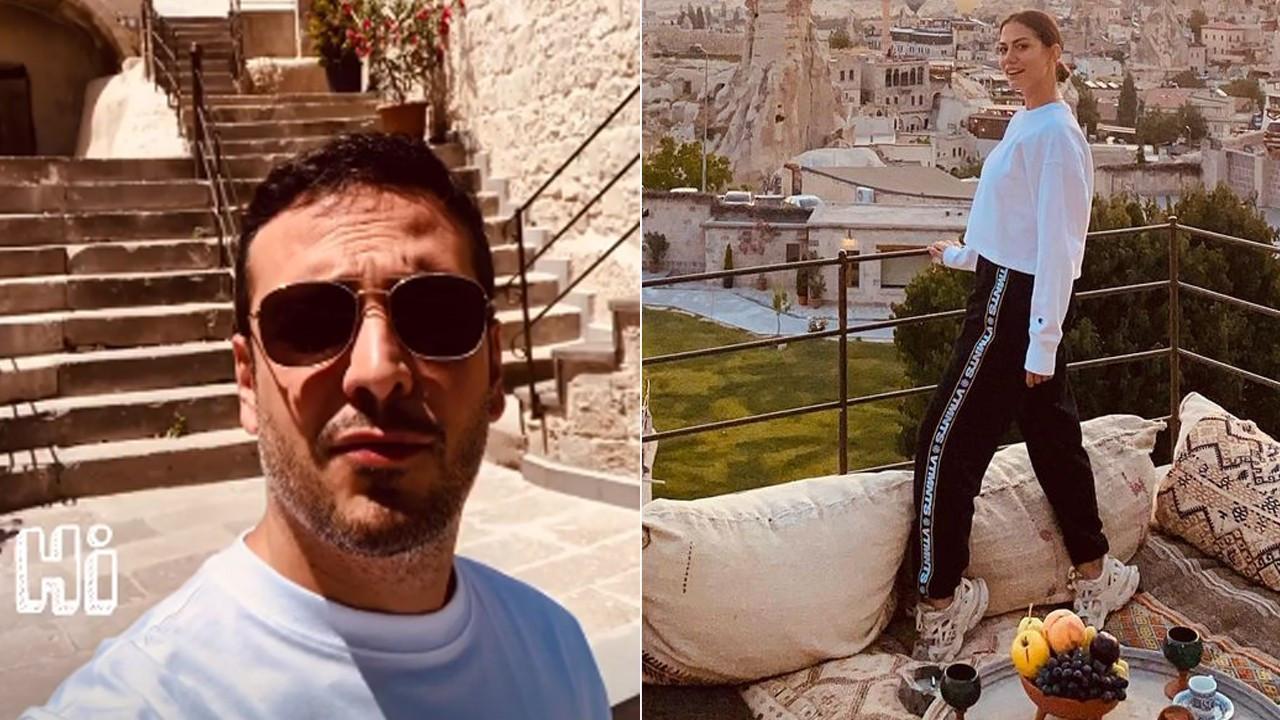 Oğuzhan Koç ve Demet Özdemir'in Kapadokya kaçamağı