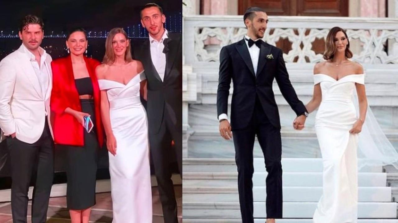 Almeda Abazi'nin kız kardeşi ünlü basketbolcuyla evlendi