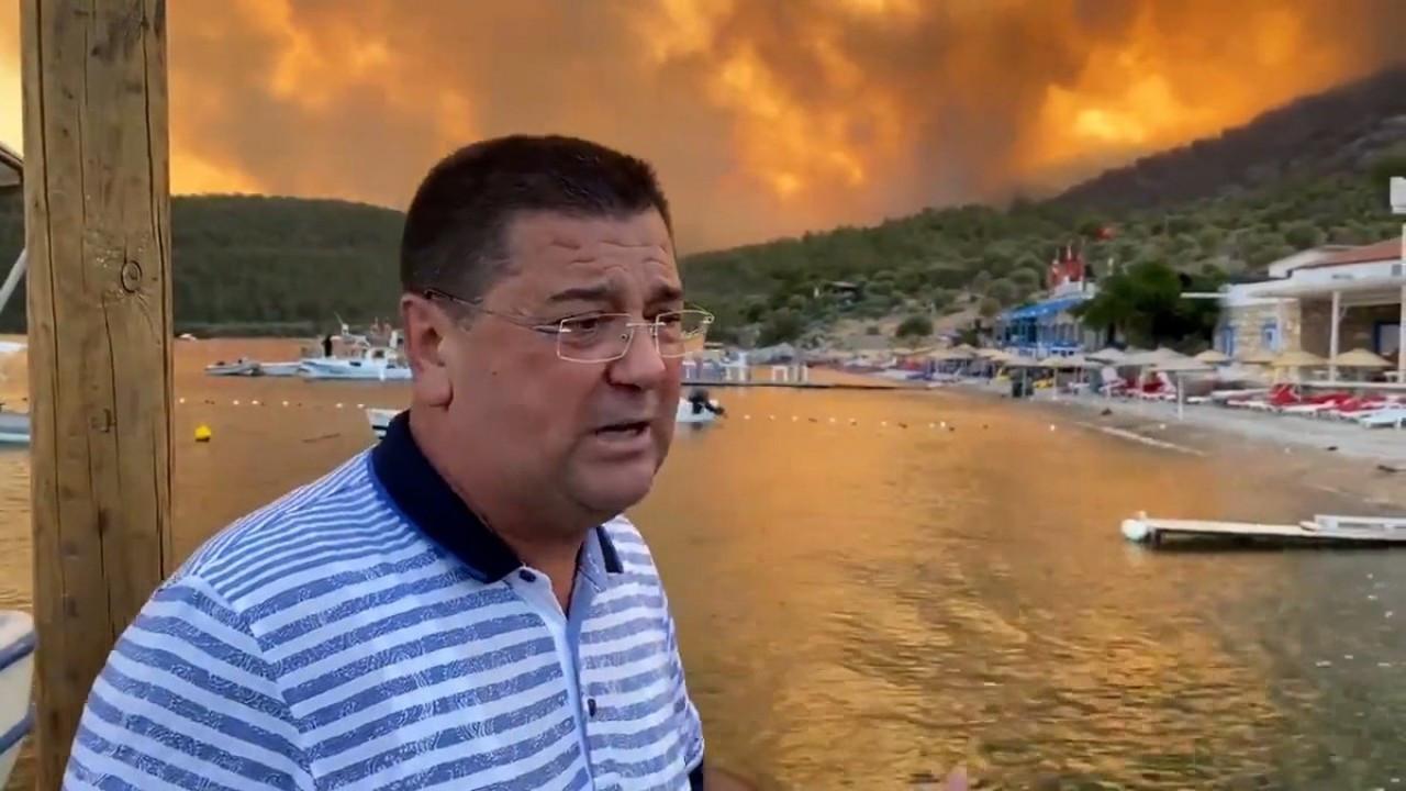 """Milas Belediye Başkanı: """"Yangın yoğun bir şekilde devam ediyor"""""""