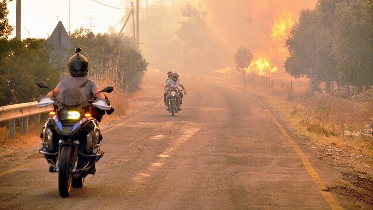 Gökova koyları yanıyor!..