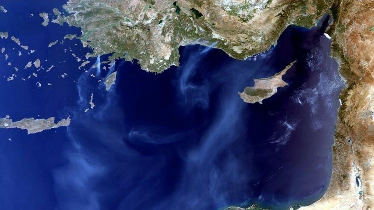 Türkiye'deki yangının vahim boyutu uydudan görüntülendi