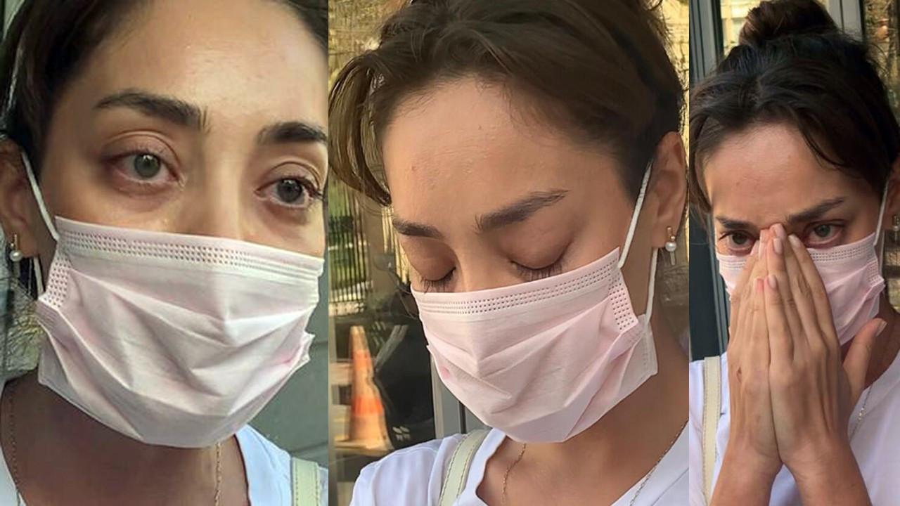 Zeynep Tuğçe Bayat röportaj esnasında gözyaşlarına boğuldu