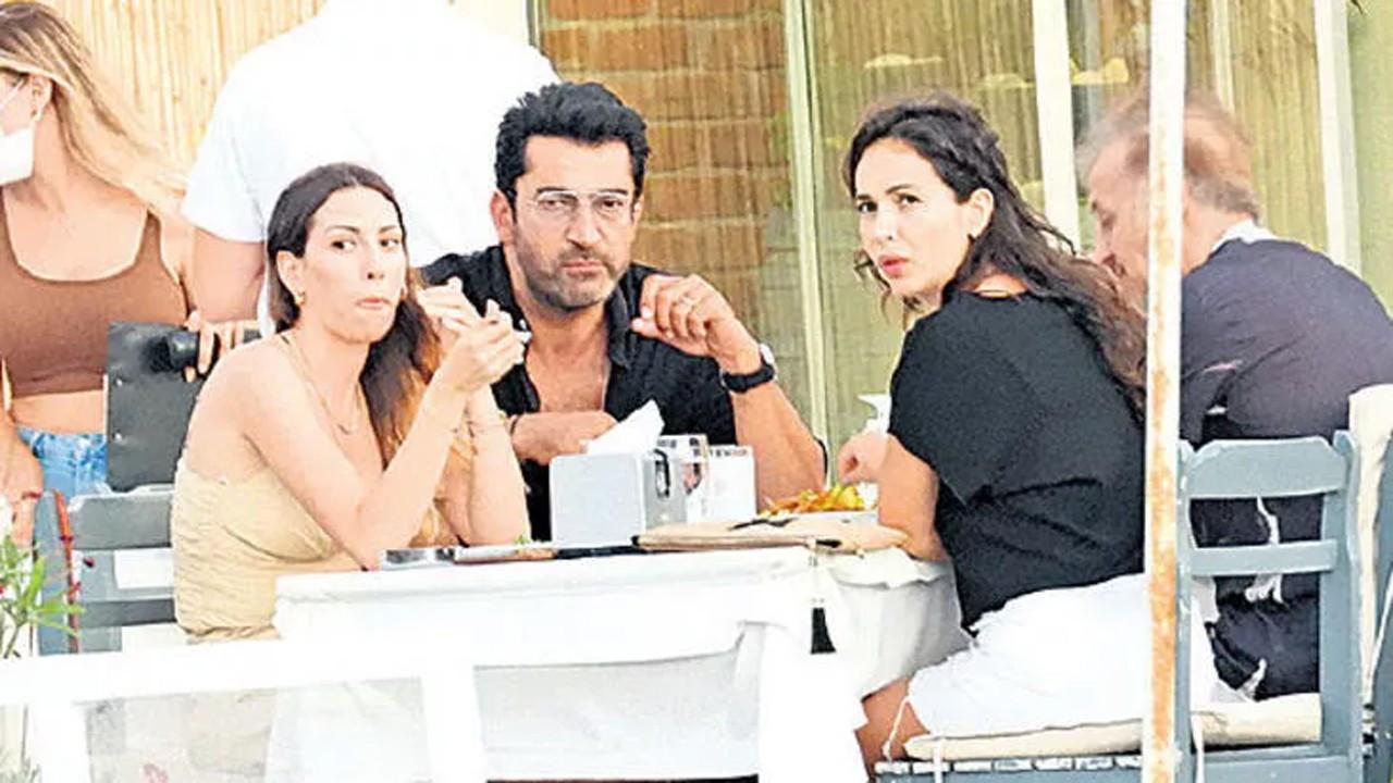 Kenan İmirzalıoğlu ve Sinem Kobal'ın yemek keyfi yarım kaldı