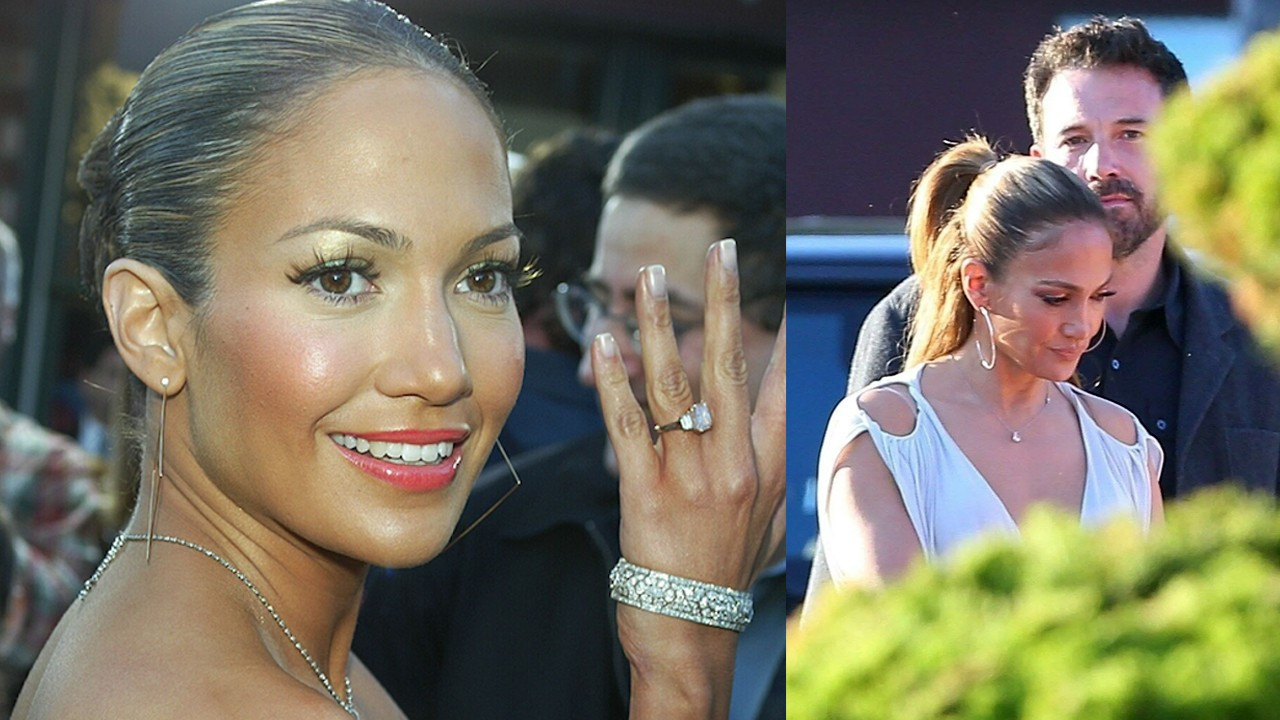Ben Affleck'ten Jennifer Lopez'e 105 milyon TL'lik yüzük