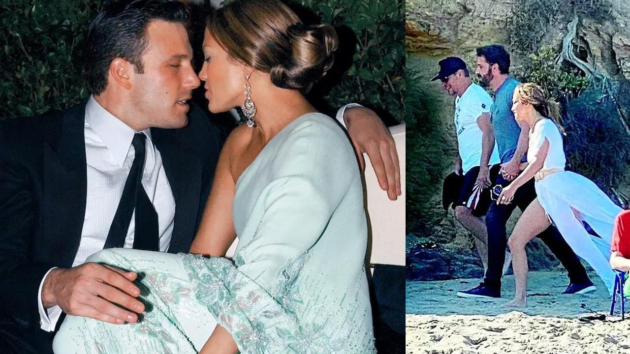Jennifer Lopez ve Ben Affleck'in tatiline ünlü aktör de dahil oldu