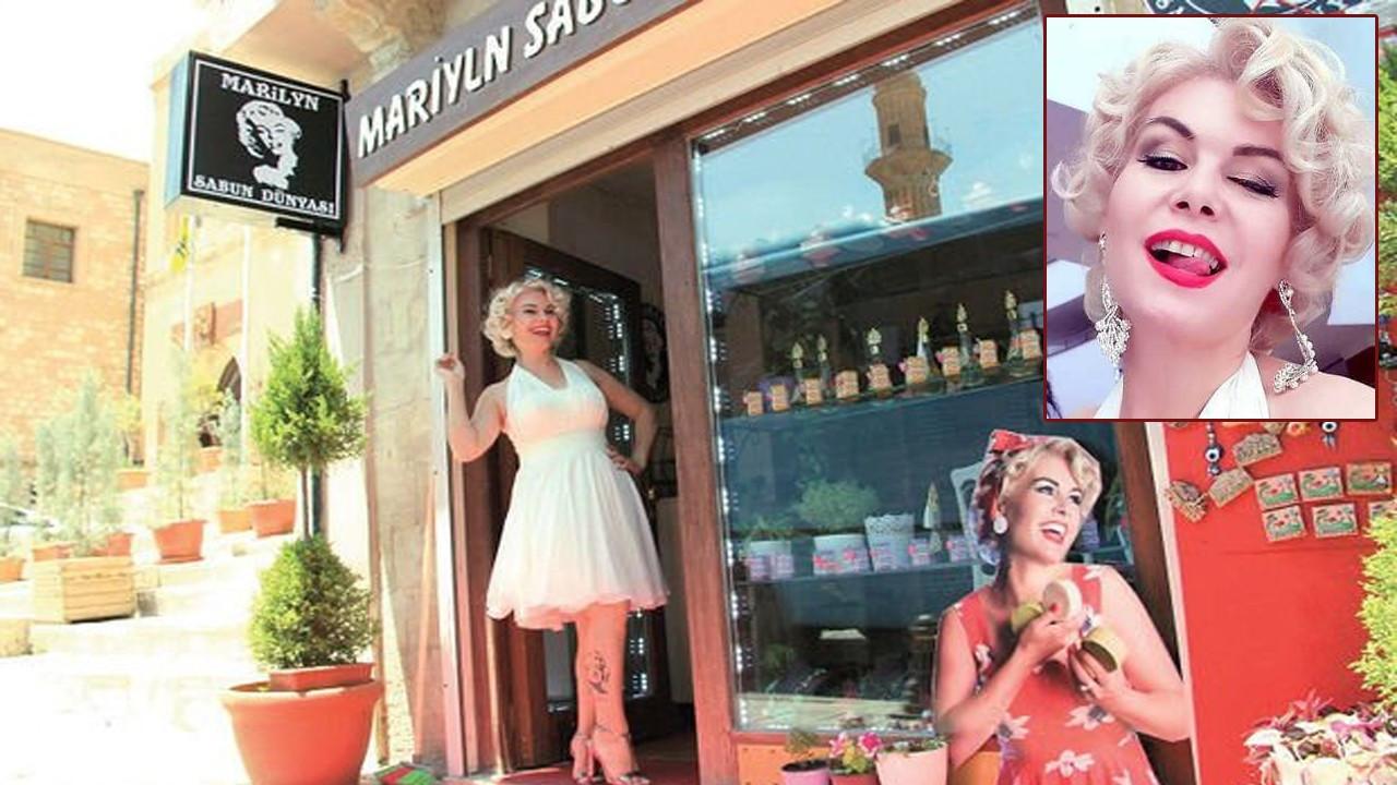 Mardinli Marilyn Monroe saldırıya uğradı!..