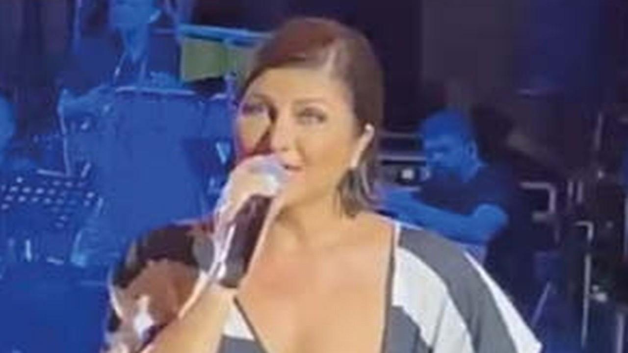 Sibel Can sahnede neye uğradığına şaşırdı!