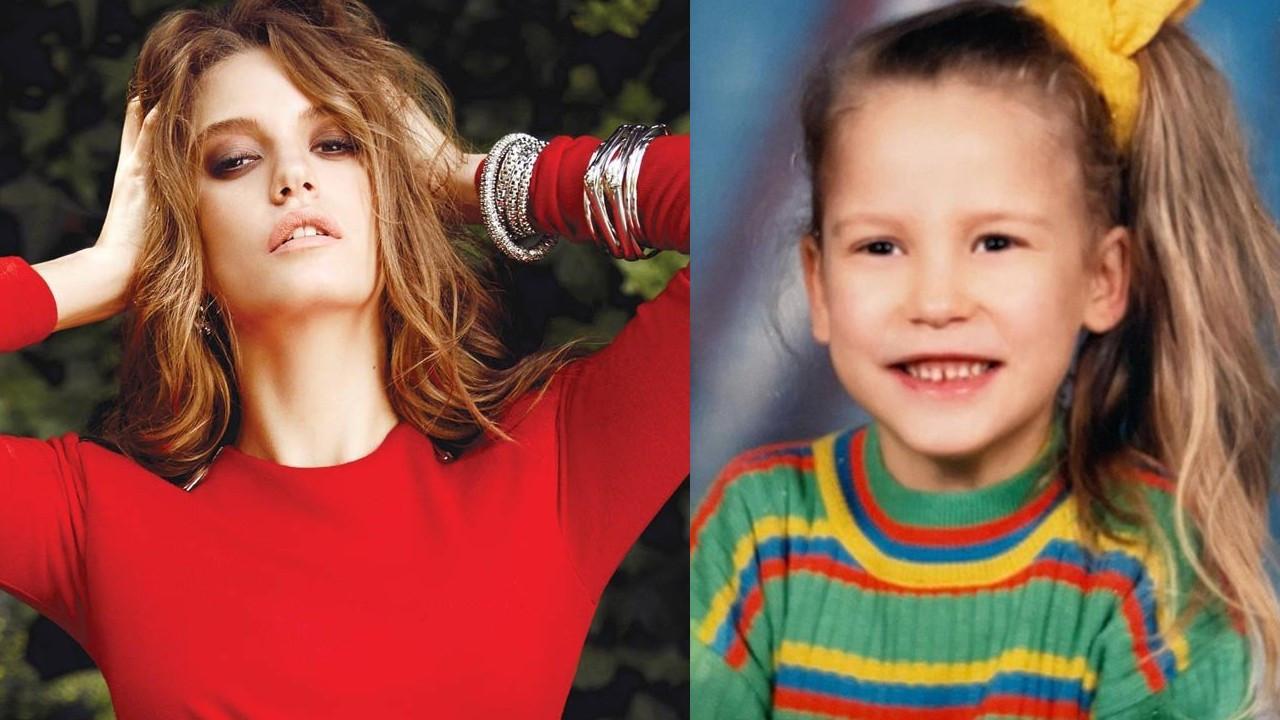 Serenay Sarıkaya'nın çocukluk fotoğrafı beğeni topladı