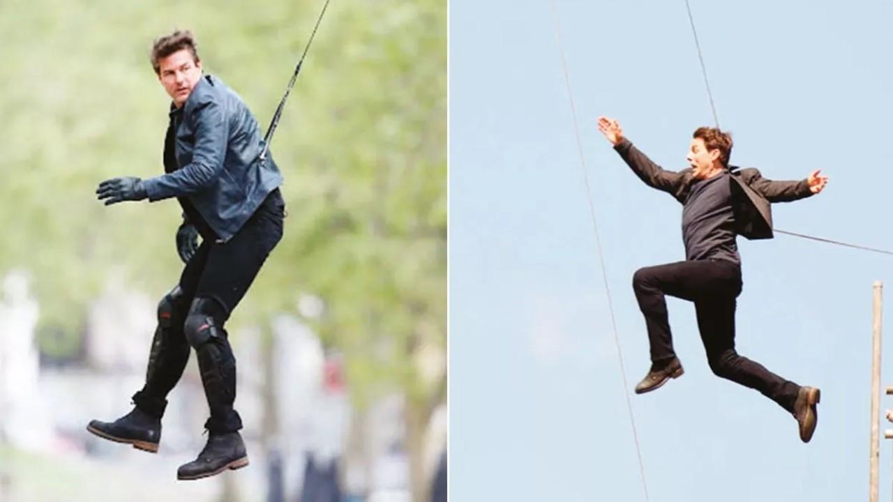 Tom Cruise son filminde hayli zorlandı