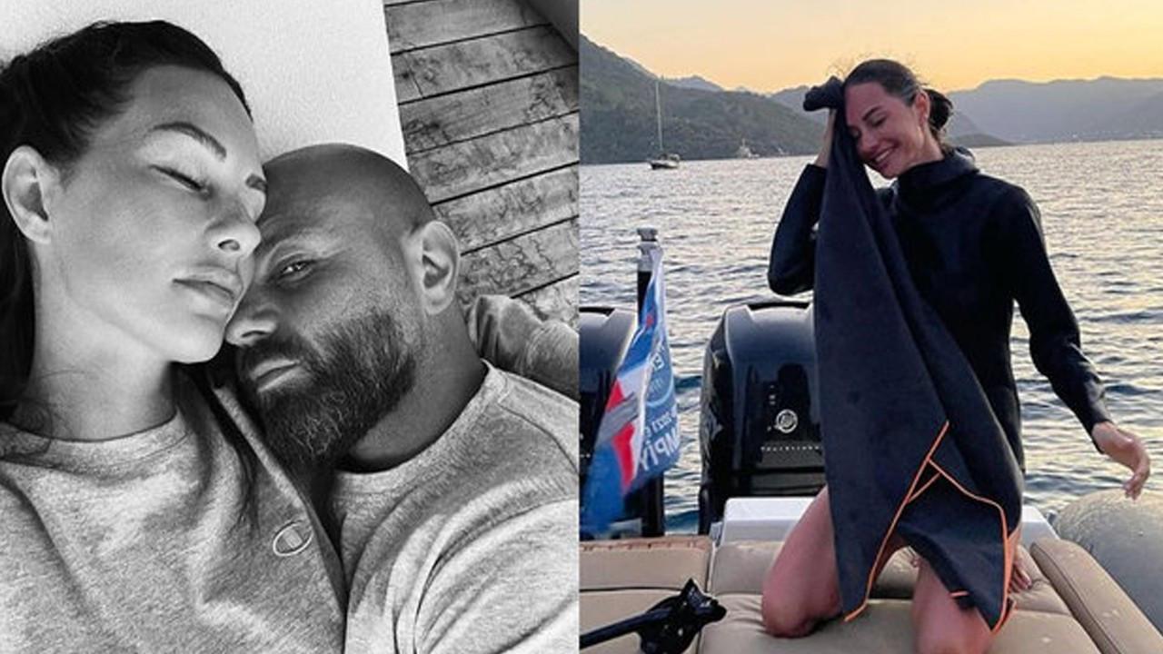 Yasemin Özilhan ve eşinden 'Yaza veda' pozu