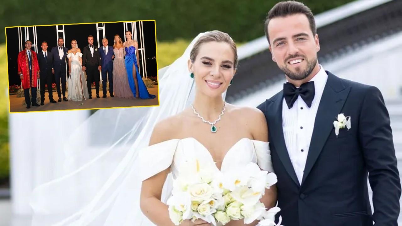 Melih Mahmutoğlu ve Damla Çakıroğlu evlendi