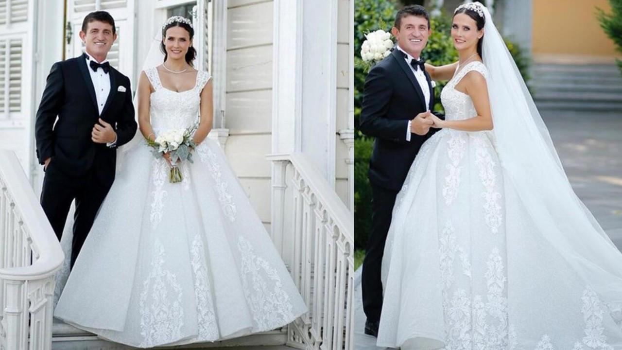 Fatoş Kabasakal ve Erkan Kayhan çifti düğünlerini 3 yıl sonra yaptı