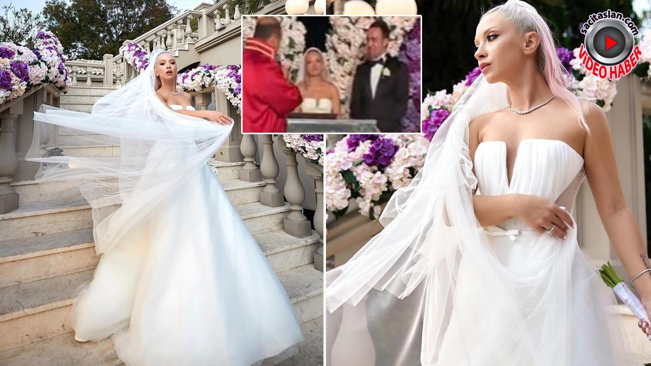 Ece Seçkin pilot nişanlısı Çağrı Terlemez ile evlendi