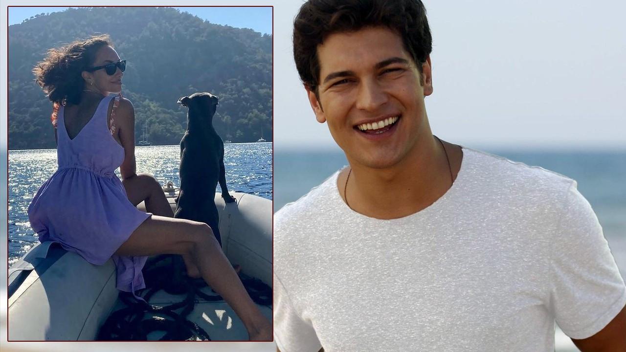 Çağatay Ulusoy ve Duygu Sarışın'ın romantik tatili
