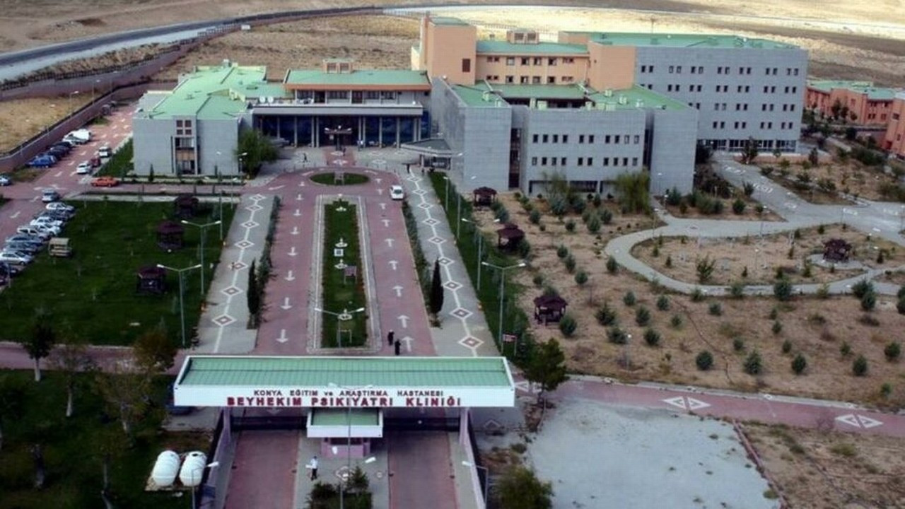 Konya'da Corona testi pozitif çıkan mahkûm, hastaneden firar etti!