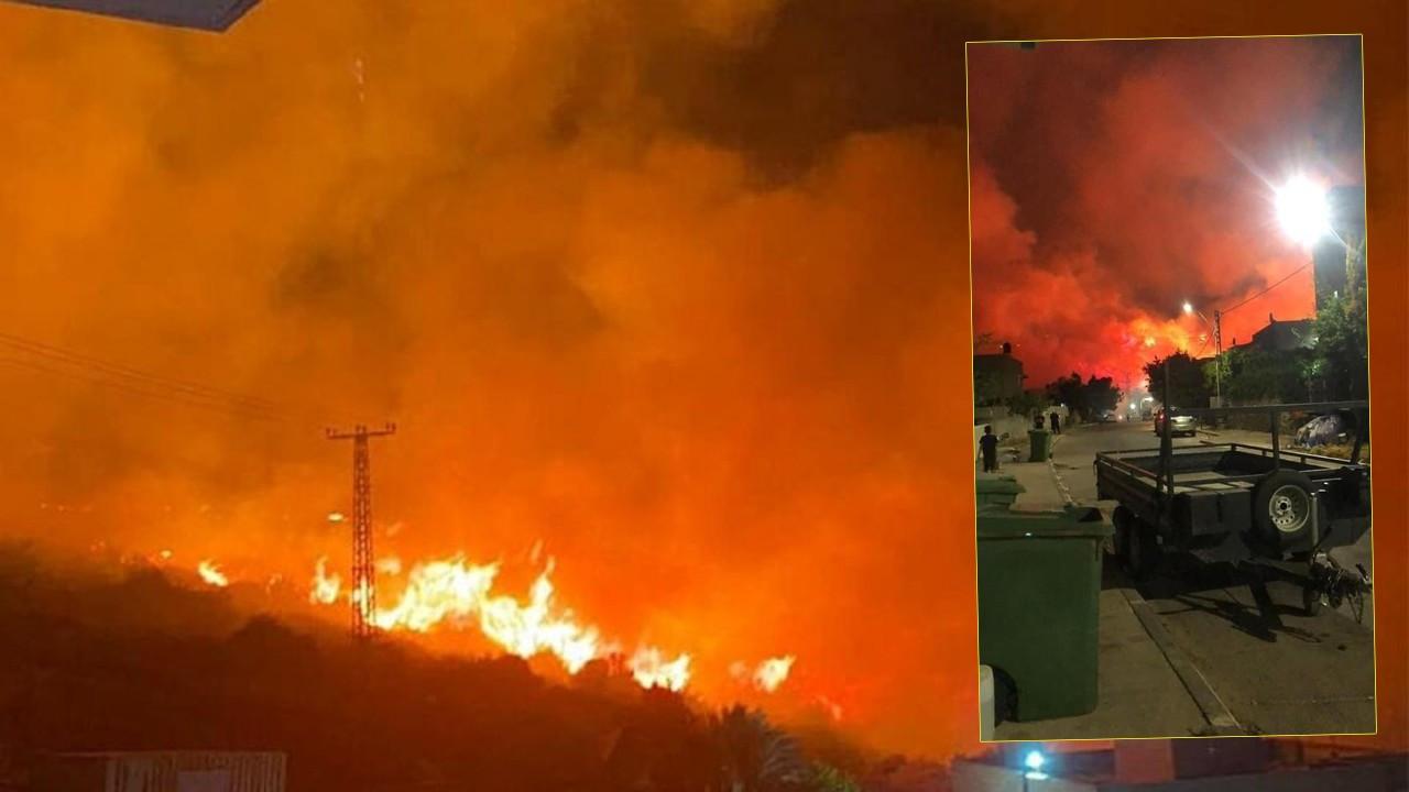 İsrail'de dev yangın