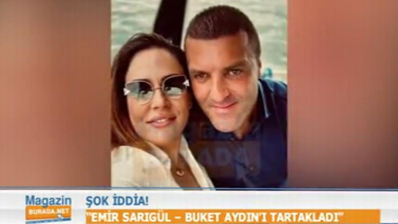 Emir Sarıgül aşk yaşadığı Buket Aydın'ı Akmerkez'de darp mı etti?
