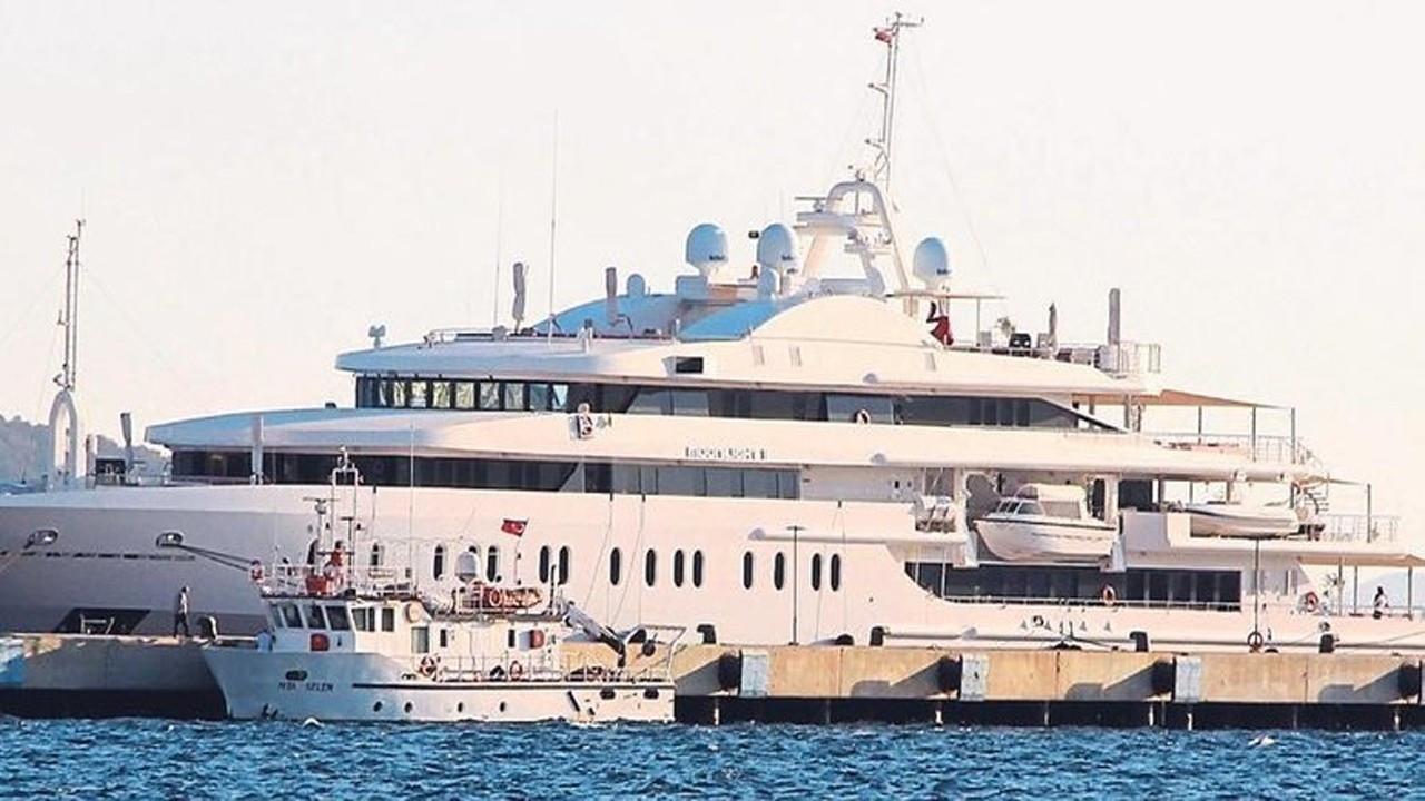 Yüzen sarayın haftalık kirası 750 bin Euro
