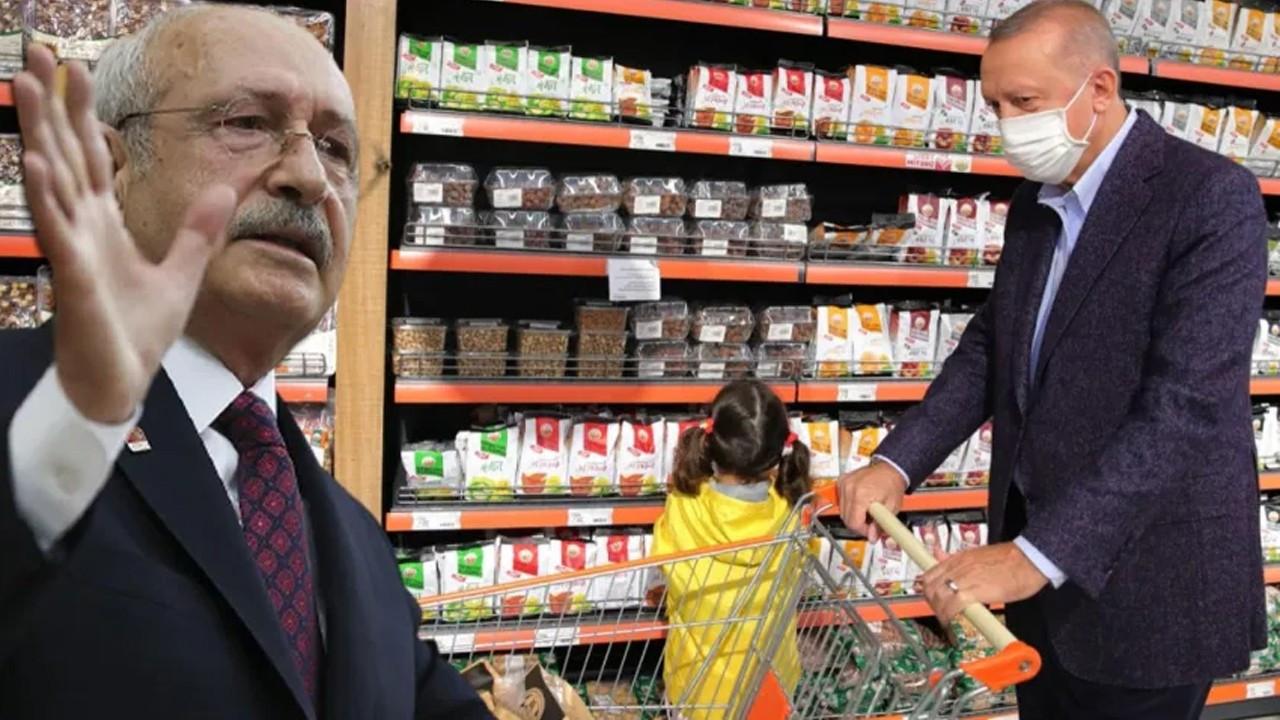 Kemal Kılıçdaroğlu'ndan Erdoğan'a 'market' tepkisi!