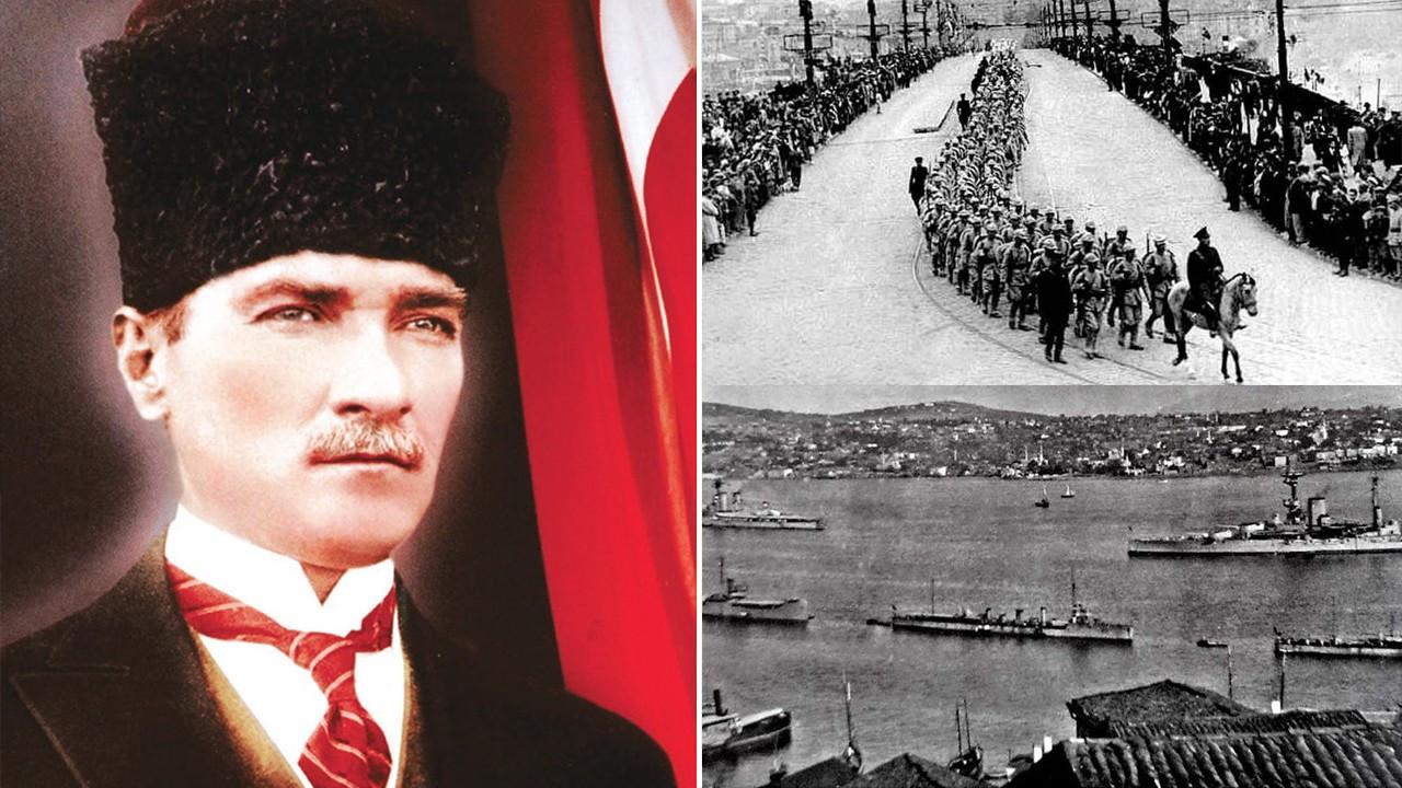 """Ulu Önder Atatürk """"Geldikleri gibi giderler"""" dedi, öyle de oldu"""