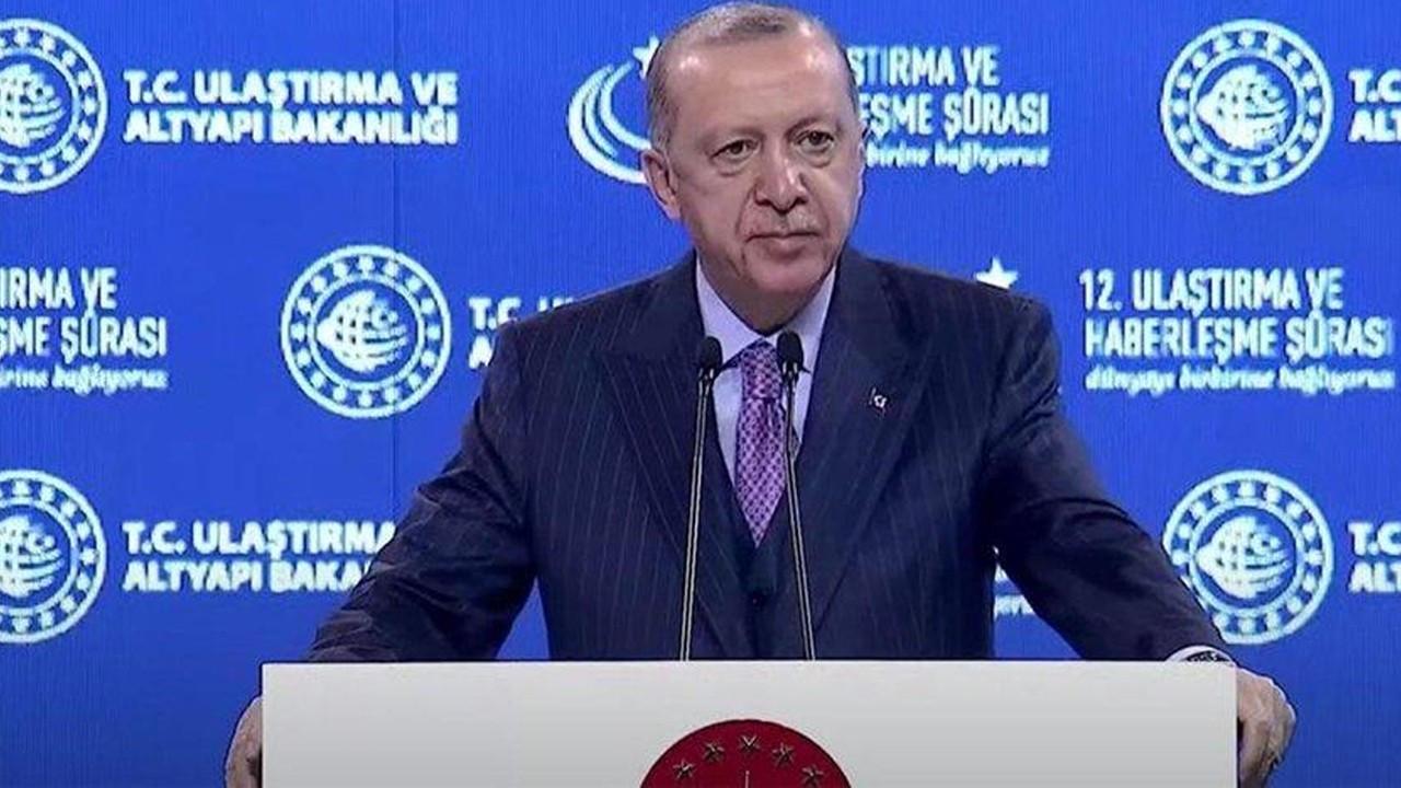 """Erdoğan: """"Kanal İstanbul'un kazısına plana göre başlayacağız"""""""