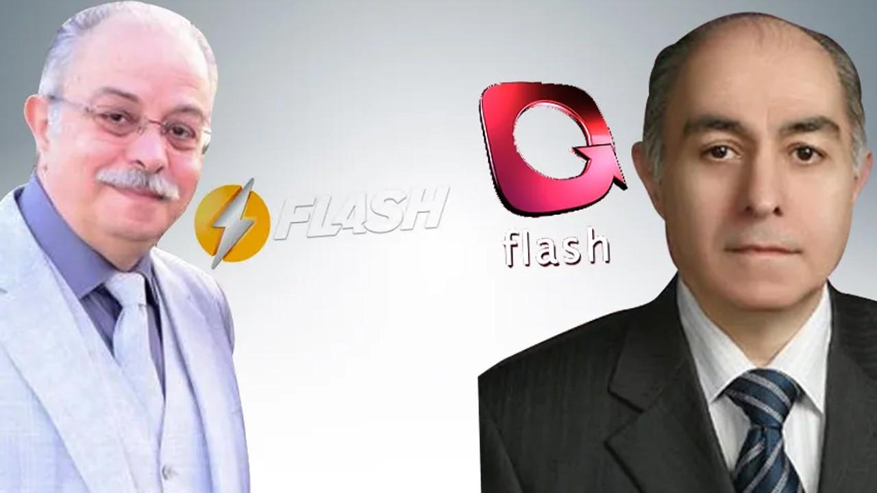 Flash TV'de iki kardeş birbirine girdi!