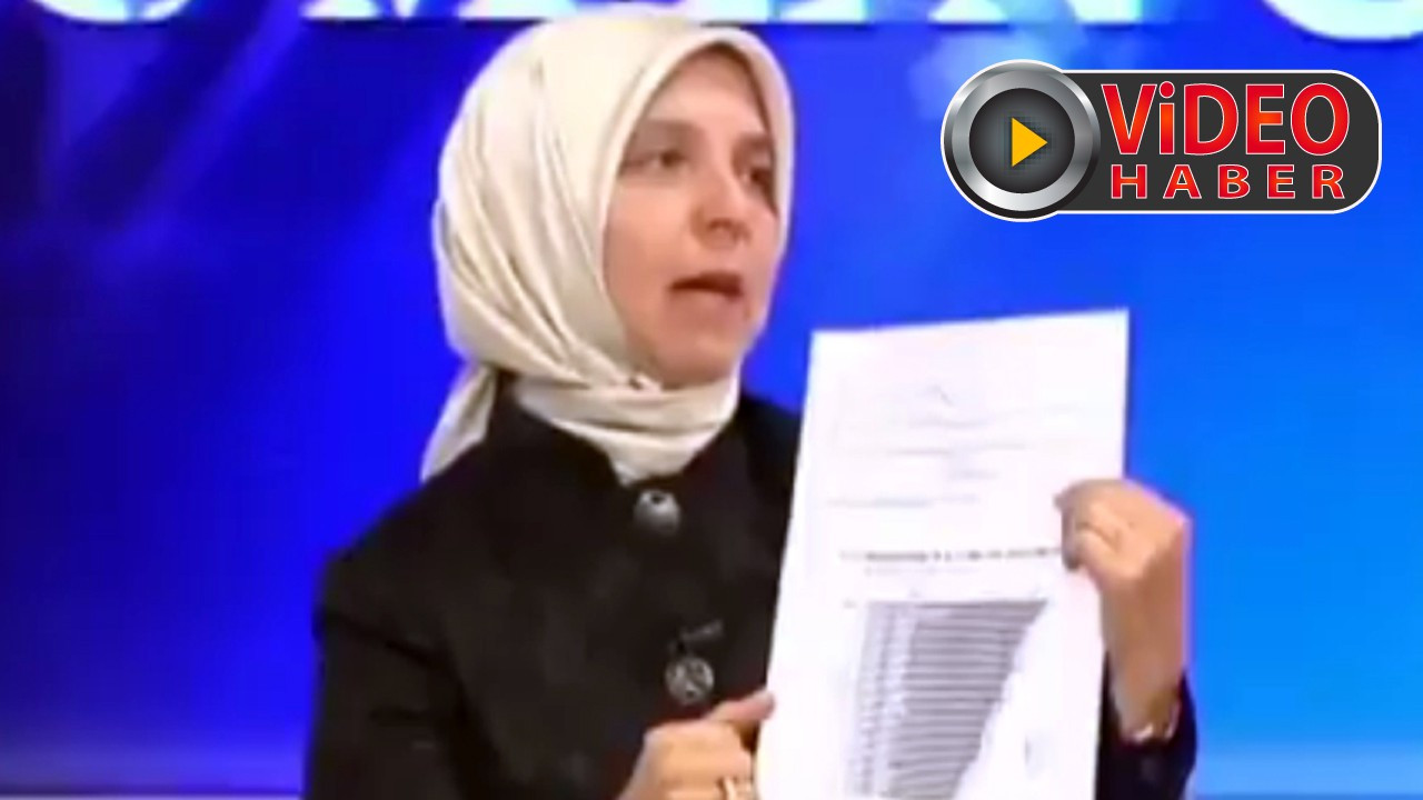 Eski AKP'li vekil Hüsnüye Erdoğan'dan ilginç çıkış!