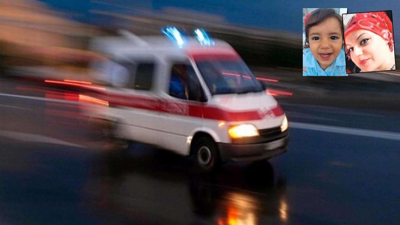 Kazada can veren yeğeninin acısına dayanamadı