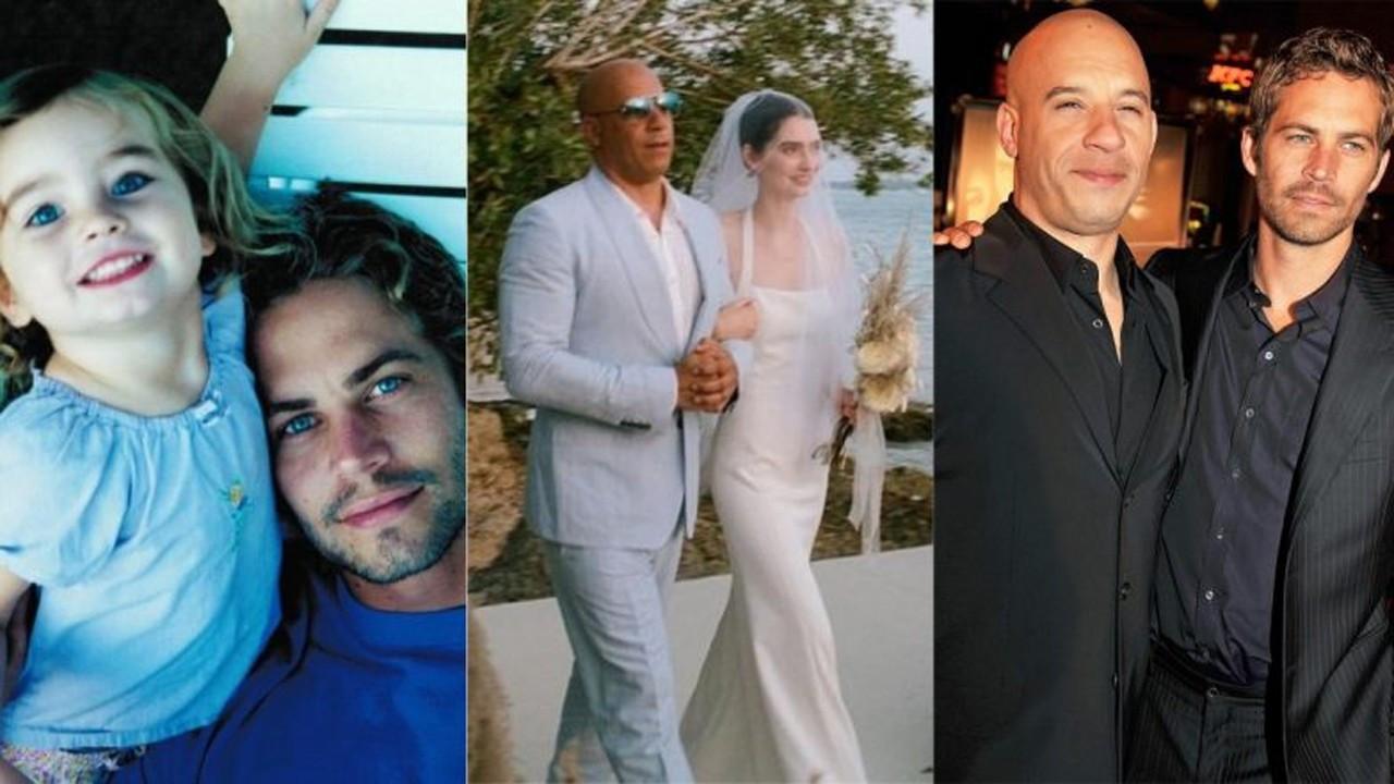 Paul Walker'ın kızı evlendi
