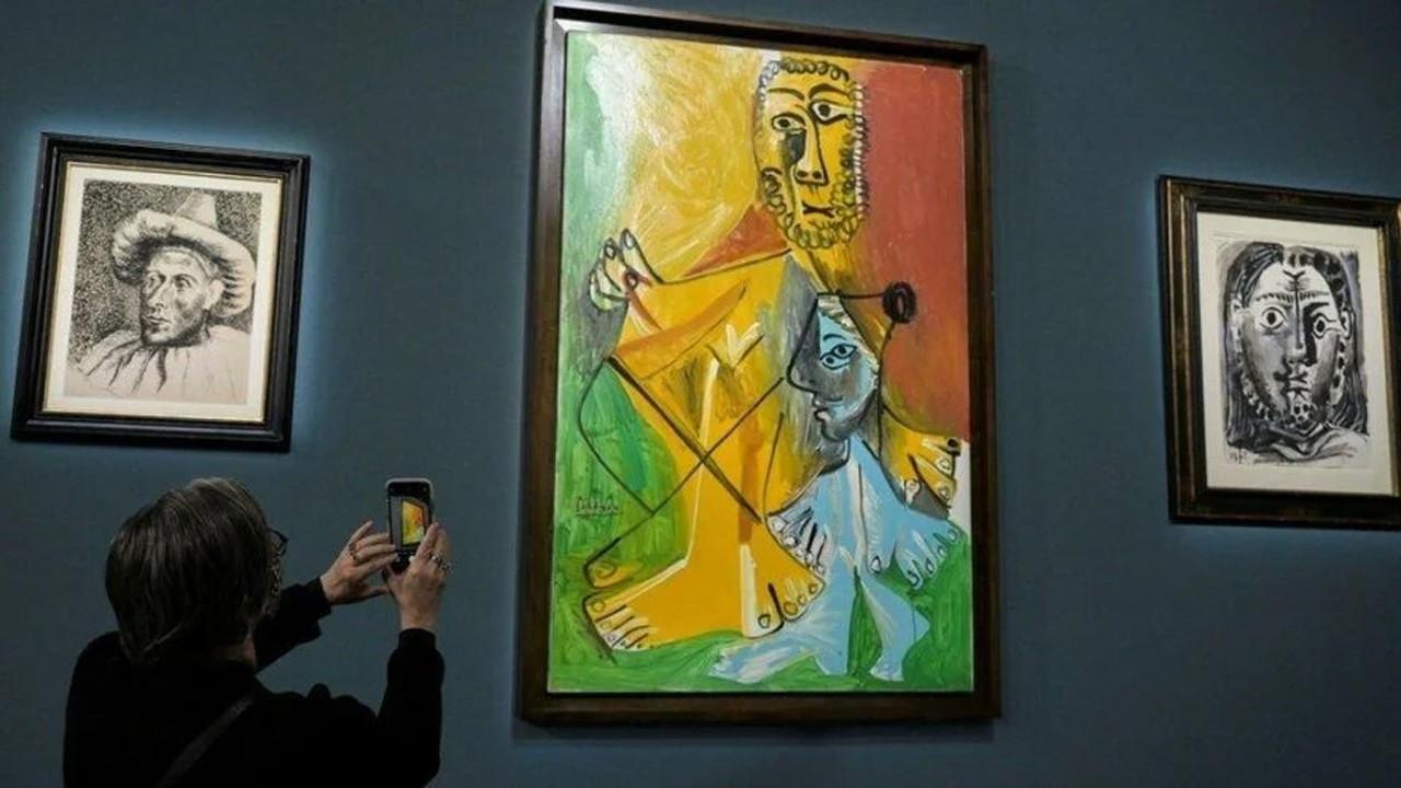 Pablo Picasso'nun başyapıtları 110 milyon dolara satıldı
