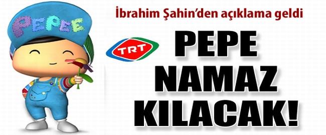 TRT çizgi film kahramanına namaz kıldıracak!..